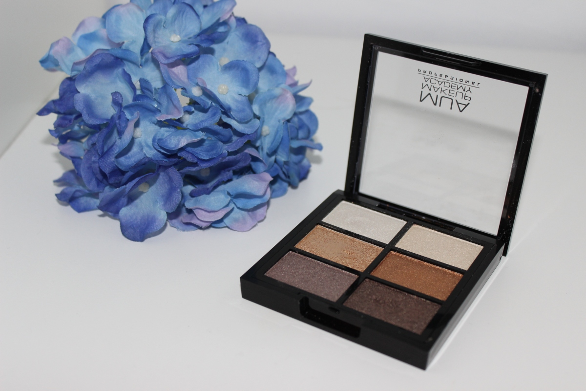 Beauty Review | MUA Six Shade Palette: Glamour Golds
